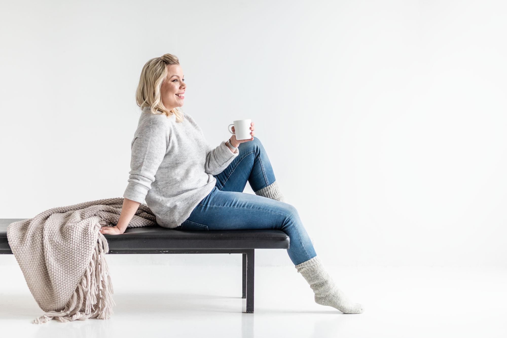 Modernisti kodikas bloggaaja Kerttu Pylvänäinen