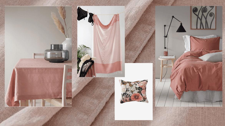 Kesän kepeät tekstiilit ja -40 % alekoodi
