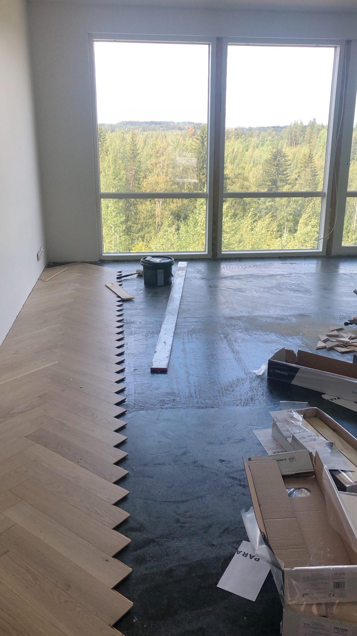 Kysymysiä ja vastauksia uudesta kodista